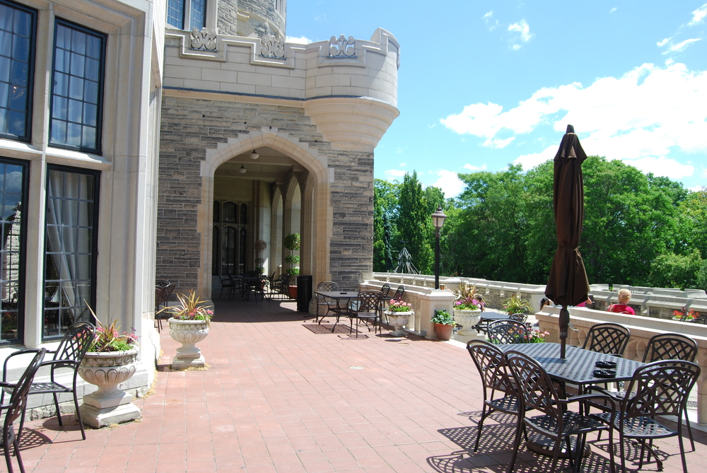 Casa Loma Patio In Toronto