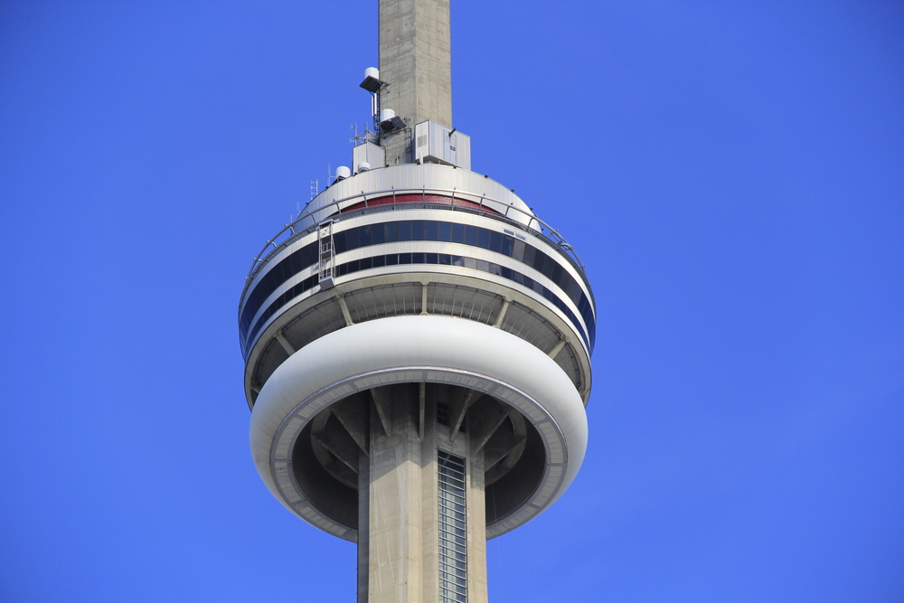 View Of CN Tower EdgeWalk
