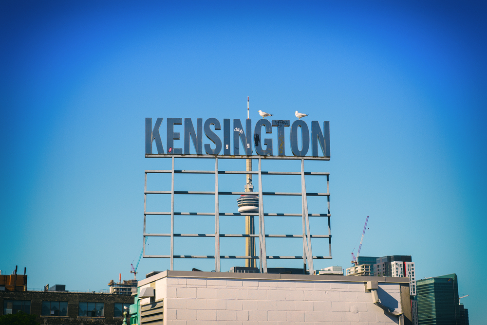 View Of Kensington Market